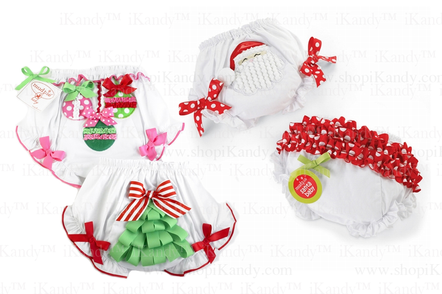 Christmas Bloomers