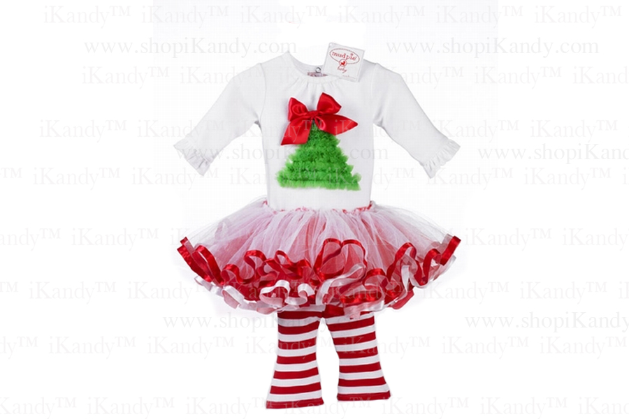 Christmas Tree Tutu Set