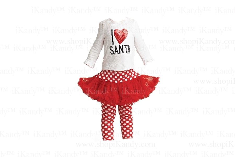 I Love Santa Playset