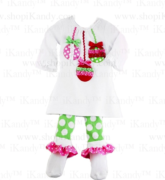 Ornament Tunic And Sock Leggings