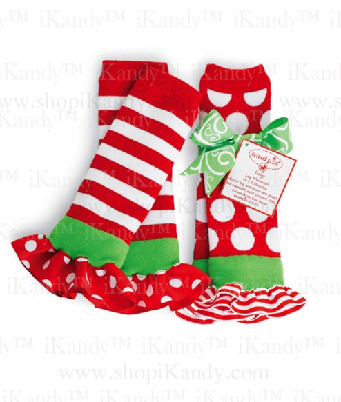 Christmas Baby Leg Warmers