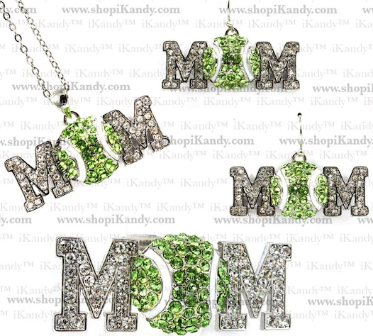 Tennis Mom Sports Jewelry Set