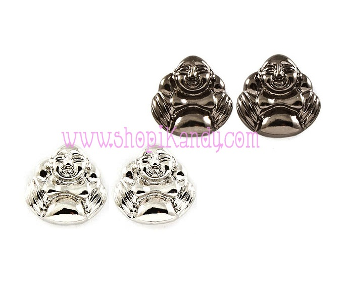 Buddha Post Earrings