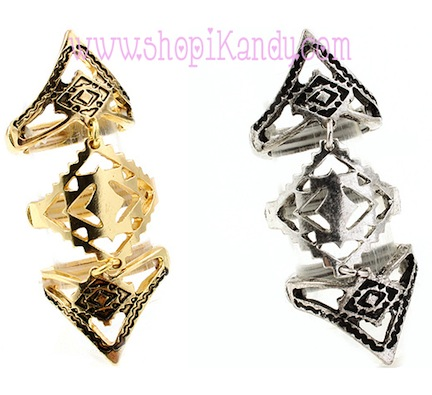 Abstract Shape 3pc. Ring