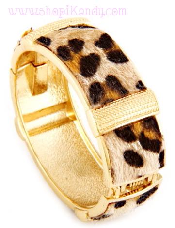Animal Fur Print Bracelet