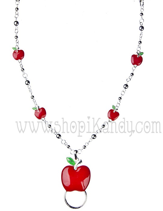 Teacher's Apple ID & Glasses Holder Necklace