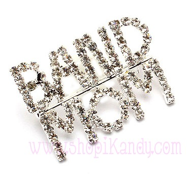 Band Mom Brooch and Pin