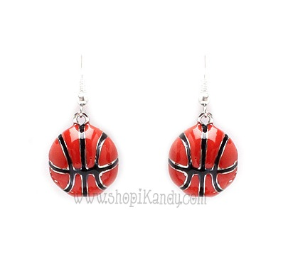 Basketball Sports Earrings