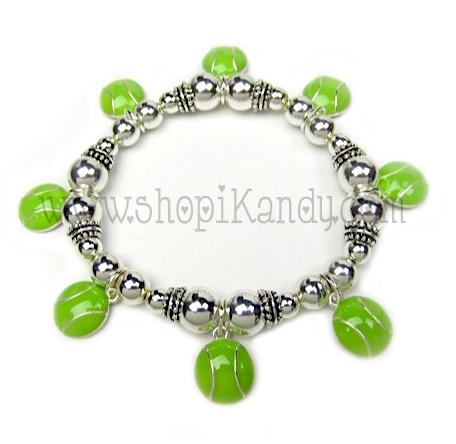 Tennis Charm Sports Bracelet