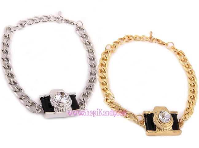 Camera Chain Bracelet