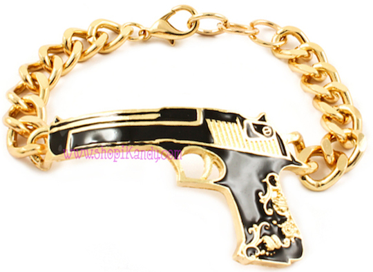 Antique Gun Bracelet