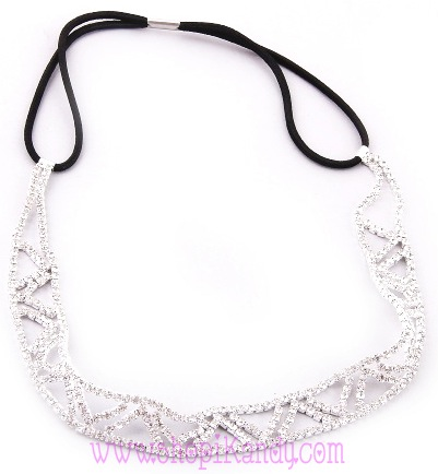 Crystal Stone Stretch Headband