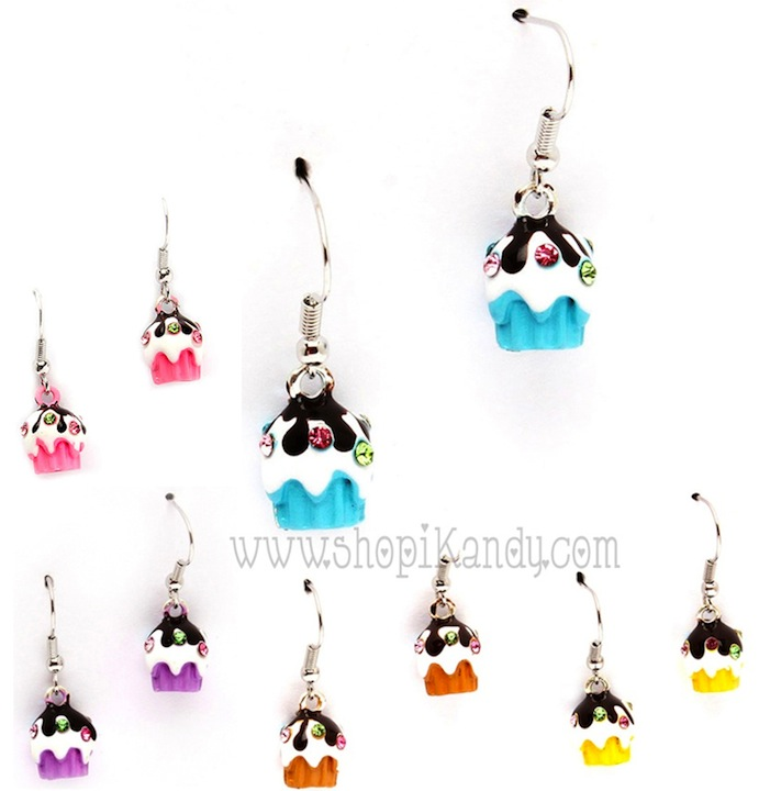 Sweet Treats Cupcake Earrings