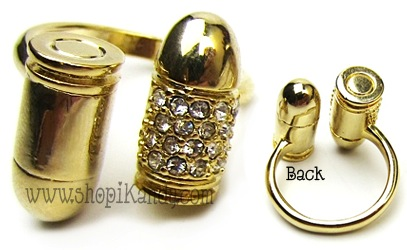 Double Bullet Bling Ring