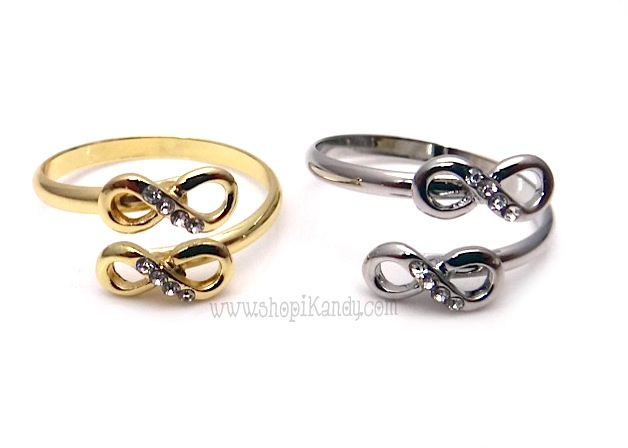 Double Infinity Wrap Ring