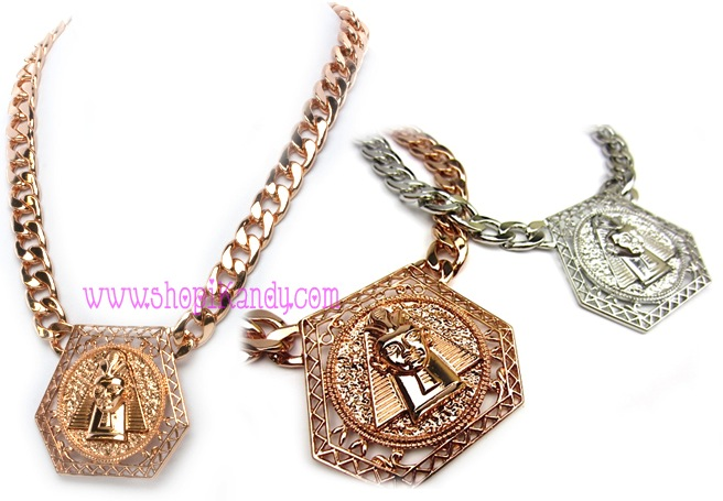 Egyptian Icon Chain Necklace