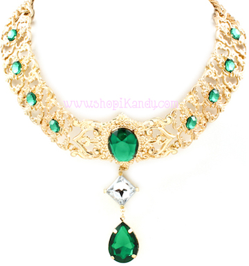 Emerald Queen Necklace