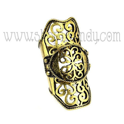 Filigree Finger Armor Ring