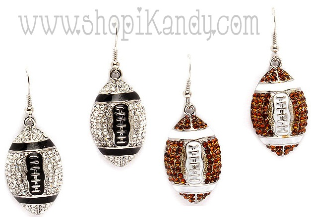 Football Sports Earrings