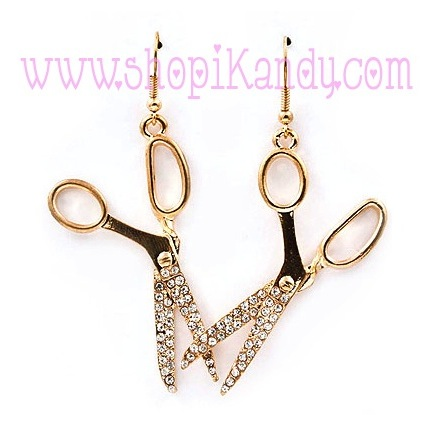 Hair Stylist Scissors Earrings