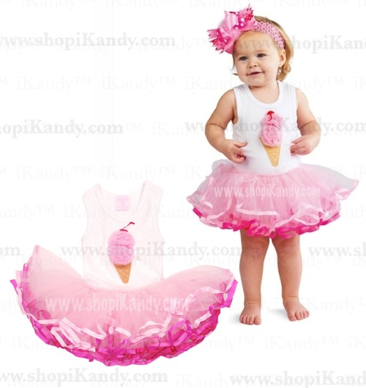 Ice Cream Treat Tutu Dress
