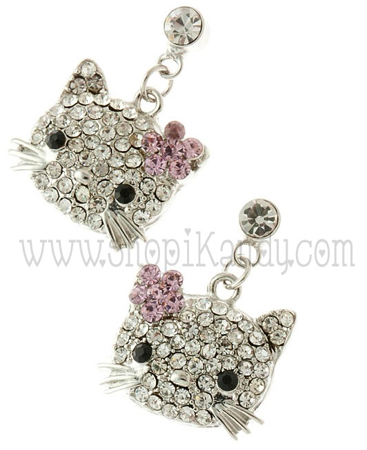 Kitty Inspired Earrings