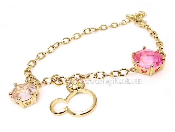 Mouse Ears Charm Bracelet