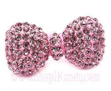 Pink Bow Bling Ring