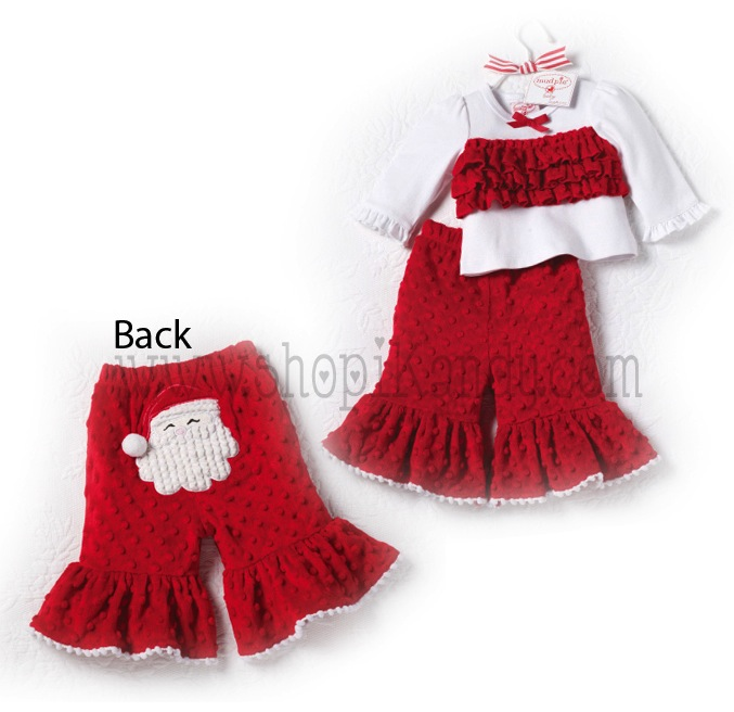 Santa Minky 2 Piece Pant Set