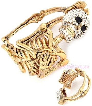 Skeleton Body Bracelet