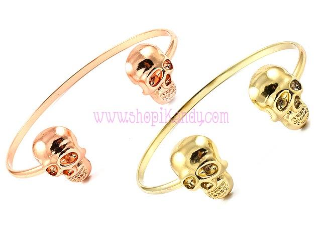 Infinity Skull Bracelet