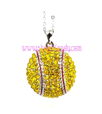 Softball Sports Necklace