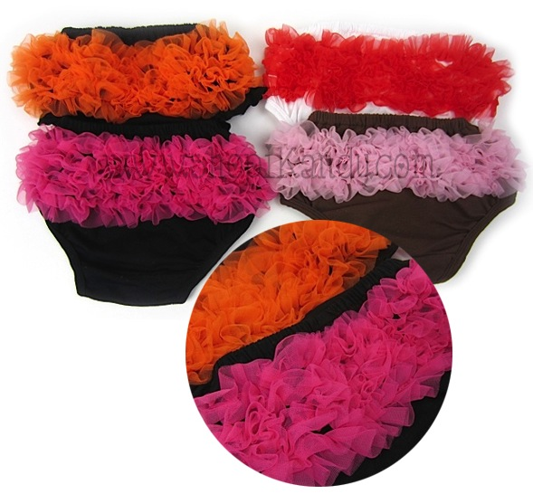 2 Color Ruffle Bloomers