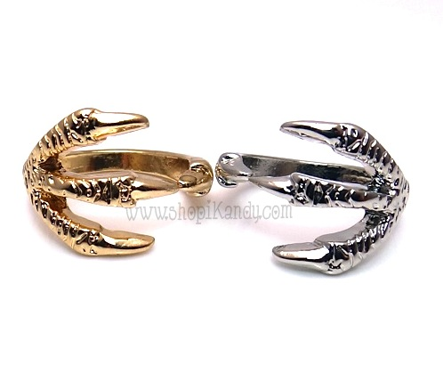 Talon Claw Midi Ring