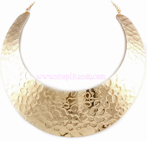 Textured Choker Necklace