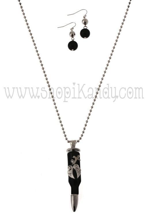 Bullet Necklace Set
