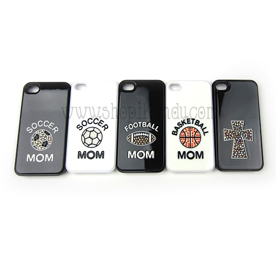 Bling iPhone 4 Sports Mom Covers