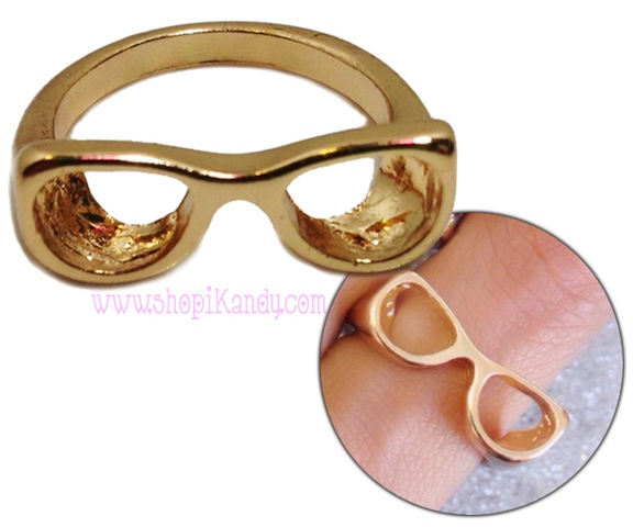 Cute Sunglasses Ring